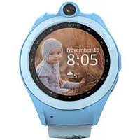 Смарт-годинник UWatch Q610 Kid wifi gps smart watch Blue (F_52916)