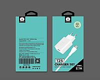 Адаптер мережевий WUW Micro cable T25 |1USB, 2.1 A|