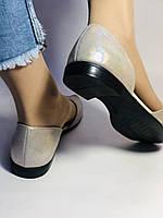 Стильные! Женские туфли -балетки из натуральной кожи. Турция.37,38,40. Супер комфорт. Vellena, фото 8