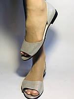Стильные! Женские туфли -балетки из натуральной кожи. Турция.37,38,40. Супер комфорт. Vellena, фото 5