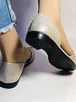 Стильные! Женские туфли -балетки из натуральной кожи. Турция.37,38,40. Супер комфорт. Vellena, фото 6