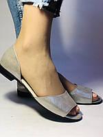 Стильные! Женские туфли -балетки из натуральной кожи. Турция.37,38,40. Супер комфорт. Vellena, фото 3