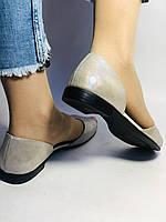 Стильные! Женские туфли -балетки из натуральной кожи. Турция.37,38,40. Супер комфорт. Vellena, фото 9