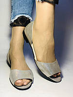Стильные! Женские туфли -балетки из натуральной кожи. Турция.37,38,40. Супер комфорт. Vellena, фото 4