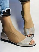 Стильные! Женские туфли -балетки из натуральной кожи. Турция.37,38,40. Супер комфорт. Vellena, фото 2