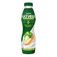 Біфідойогурт Активиа яблуко-злаки 1,5% пляшка 580г