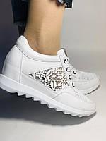 Alpino. Женские кроссовки белые.Натуральная кожа. Размер  38.40 Турция. Vellena, фото 3