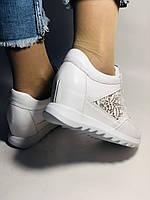 Alpino. Женские кроссовки белые.Натуральная кожа. Размер  38.40 Турция. Vellena, фото 9