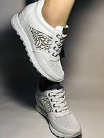 Alpino. Женские кроссовки белые.Натуральная кожа. Размер  38.40 Турция. Vellena, фото 6