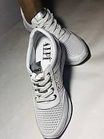 Alpino. Женские кроссовки белые.Натуральная кожа. Размер  38.40 Турция. Vellena, фото 8