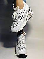 Туреччина.Alpino Жіночі кеди-білі кросівки на платформі.Натуральна шкіра. Розмір 36,37,38,39,40, фото 6