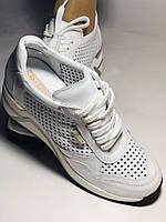 Туреччина.Alpino Жіночі кеди-білі кросівки на платформі.Натуральна шкіра. Розмір 36,37,38,39,40, фото 8