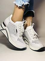 Туреччина.Alpino Жіночі кеди-білі кросівки на платформі.Натуральна шкіра. Розмір 36,37,38,39,40, фото 5