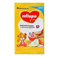 Каша мультизлакова Milupa з сумішшю фрукт від 7міс 210г
