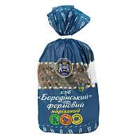 Хліб Кулиничи Бородинський формовий нарізаний 500г