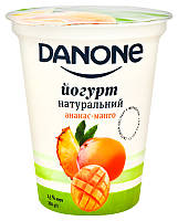 Йогурт Danone Ананс-манго 2,5% ст 260г