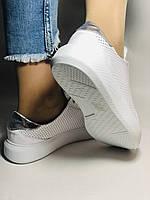 Стильные женские кеды-кроссовки на платформе.Турция. Натуральная кожа. Высокое качество 36.38.39.40  Vellena, фото 4