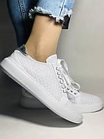 Стильные женские кеды-кроссовки на платформе.Турция. Натуральная кожа. Высокое качество 36.38.39.40  Vellena, фото 3