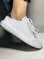 Стильные женские кеды-кроссовки на платформе.Турция. Натуральная кожа. Высокое качество 36.38.39.40  Vellena, фото 5