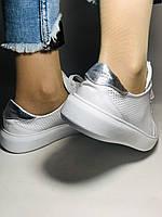 Стильные женские кеды-кроссовки на платформе.Турция. Натуральная кожа. Высокое качество 36.38.39.40  Vellena, фото 7