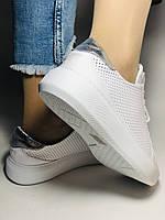 Стильные женские кеды-кроссовки на платформе.Турция. Натуральная кожа. Высокое качество 36.38.39.40  Vellena, фото 8