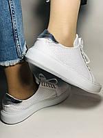 Стильные женские кеды-кроссовки на платформе.Турция. Натуральная кожа. Высокое качество 36.38.39.40  Vellena, фото 9