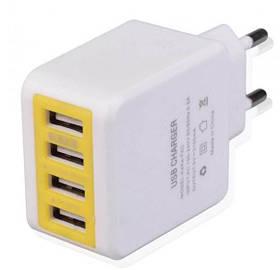 Зарядное устройство Original 3.1A USBx4 KeKe-F6C