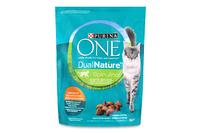 Корм для котів ONE DualNature зі спіруліною сухий 750г