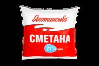 Сметана Яготинська  21% п/е 400г