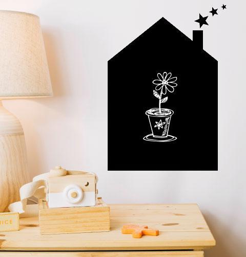 Наклейка для рисования мелом Домик (дом, дім для малюванная)