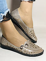 Trio Trend. Женские туфли -балетки из натуральной кожи Турция. 36 38 39.40.41, фото 4