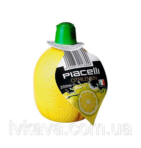 Концентрат сока лимона Piacelli, 200 мл, фото 2