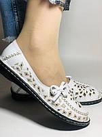 Удобные! Женские туфли -балетки из натуральной кожи.Турция.36. 37.38, 39, 40 Супер комфорт.Vellena, фото 5