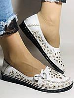 Удобные! Женские туфли -балетки из натуральной кожи.Турция.36. 37.38, 39, 40 Супер комфорт.Vellena, фото 2