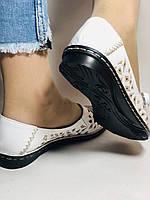 Удобные! Женские туфли -балетки из натуральной кожи.Турция.36. 37.38, 39, 40 Супер комфорт.Vellena, фото 6