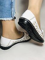 Удобные! Женские туфли -балетки из натуральной кожи.Турция.36. 37.38, 39, 40 Супер комфорт.Vellena, фото 7