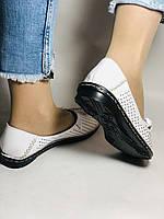 Удобные! Женские туфли -балетки из натуральной кожи Турция.36-40. Супер комфорт.Vellena, фото 3
