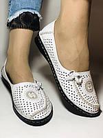 Удобные! Женские туфли -балетки из натуральной кожи Турция.36-40. Супер комфорт.Vellena, фото 4