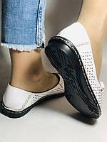 Удобные! Женские туфли -балетки из натуральной кожи Турция.36-40. Супер комфорт.Vellena, фото 5