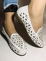 Стильные! Женские туфли -балетки из натуральной кожи 37 Турция. Супер комфорт.Vellena, фото 7