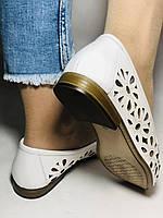 Стильные! Женские туфли -балетки из натуральной кожи 37 Турция. Супер комфорт.Vellena, фото 9