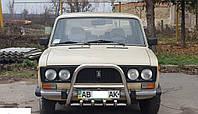 Кенгурятник с грилем (защита переднего бампера) ВАЗ 2106 (LADA)