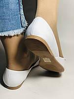 Стильні! Жіночі туфлі -балетки з натуральної шкіри 37.38.39.40. Туреччина.Mario Muzi. Супер комфорт.Vellena, фото 4