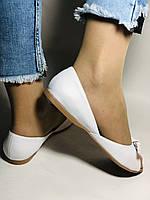 Стильні! Жіночі туфлі -балетки з натуральної шкіри 37.38.39.40. Туреччина.Mario Muzi. Супер комфорт.Vellena, фото 2