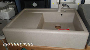 Мойка кухонная Marmorin EWIT, 515113 накладная (07 песочный)