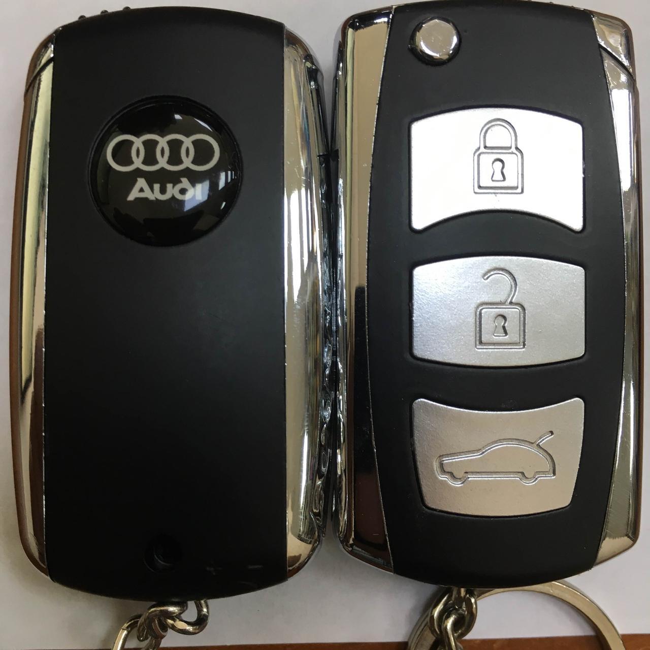 """Запальничка оригінальна у вигляді """"Audi"""" газова подарунок сувенір 4125"""