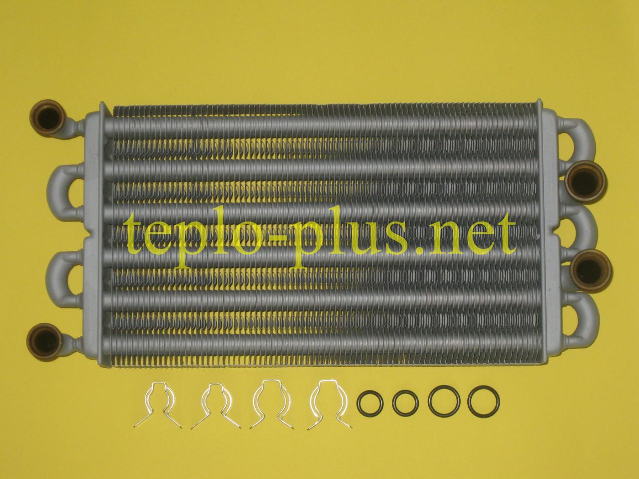 Теплообменник битермический 32 кВт 39819910/39819670 Ferroli Domiproject C32, F32, FerEasy C32, F32
