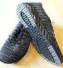 Кроссовки Bonote р.43 текстиль сетка чёрные, фото 3