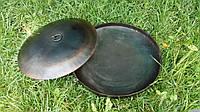 Сковорода из диска 40 см. с крышкой и подарком