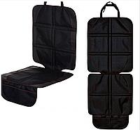 Накидка в авто защитная чехол на автокресло подстилка на сиденье непромокаемый автонакидка универсальная